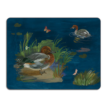 Nathalie Lété Ducks in a Creek Table Mat - Wigeon Duck