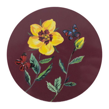 Nathalie Lete Rose Coaster - China Rose