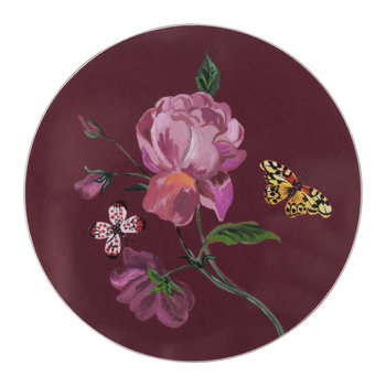 Nathalie Lete Rose Coaster - Bourbon Rose