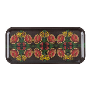 Patch NYC Floral Tray - Narrow - Cabbage Rose