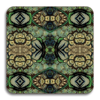 Patch NYC Floral Coaster - Blue Cluster
