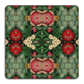 Patch NYC Flora Placemat - Square - Pink Bouquet