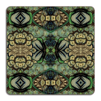 Patch NYC Flora Placemat - Square - Blue Cluster