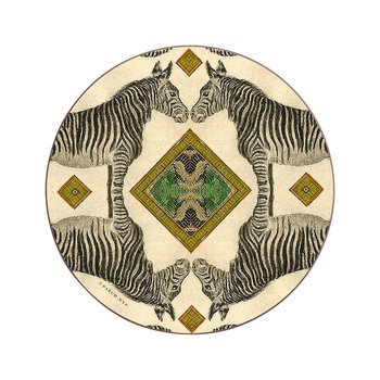 Patch NYC Wildlife Coaster - Zebra