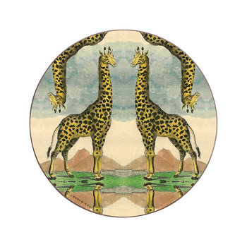 Patch NYC Wildlife Untersetzer - Giraffe