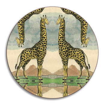 Patch NYC Wildlife Coaster - Giraffe