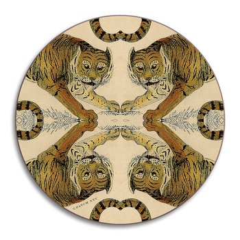 Patch NYC Wildlife Coaster - Tiger