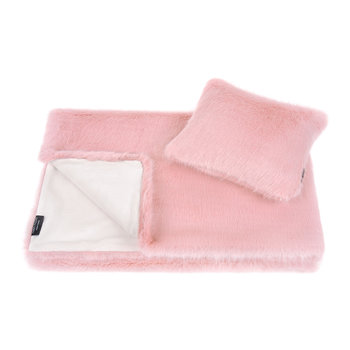 Children's Throw & Cushion Gift Set - Dusky