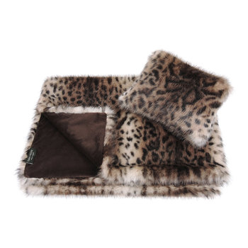 Children's Comforter & Cushion Gift Set - Ocelot
