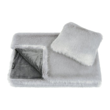 Children's Throw & Cushion Gift Set - Opal