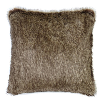 Faux Fur Truffle Pillow