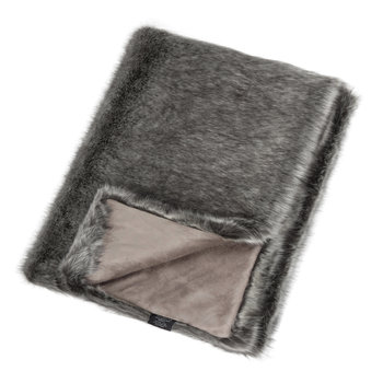 Faux Fur Throw - Signature Lady Grey