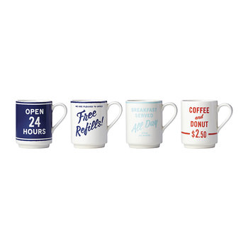 Order's Up Mugs - Set of 4