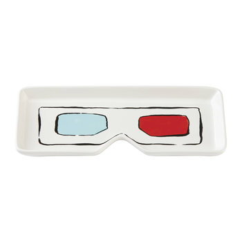 Pop By Popcorn Oblong Tray - 3D Glasses