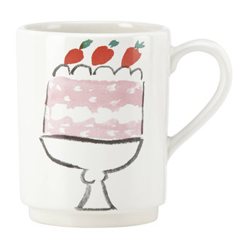 Pretty Pantry Accent Mug - Cake