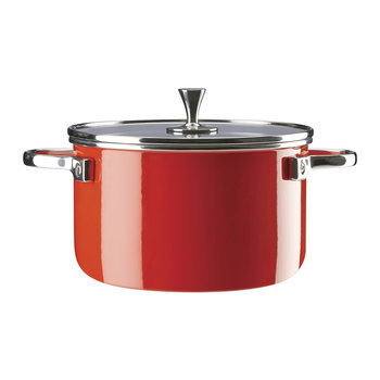 Casserole Pan - Red