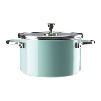 Casserole Pan - Turquoise