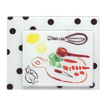 Deco Dot Schneidebretter - 2-teiliges Set