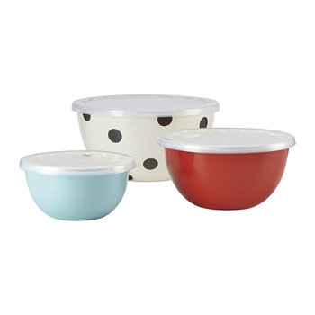 Deco Dot Food Containers - Set of 3