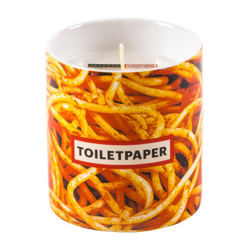 Porcelain Encased Candle - Spaghetti