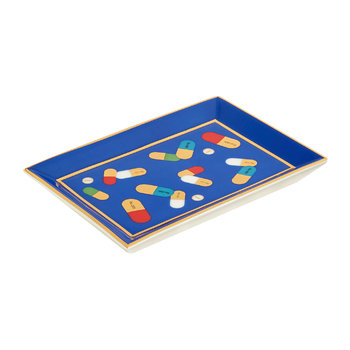 Full Dose Rectangular Tray - Blue