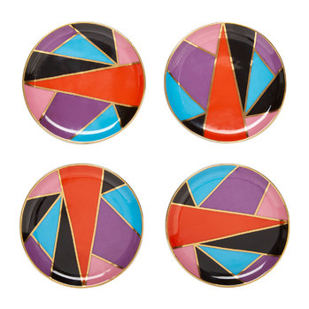 Harlequin Coasters - Set of 4 - Multicolour