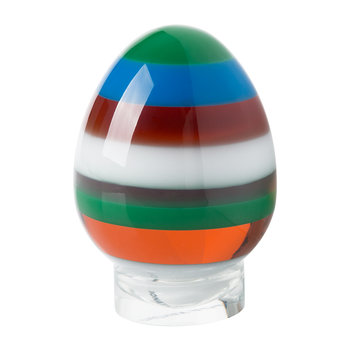 Acrylic Stacked Egg - Multicolour - Small