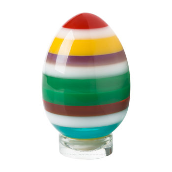Acrylic Stacked Egg - Multicolour - Medium