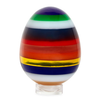 Acrylic Stacked Egg - Multicolour - Large