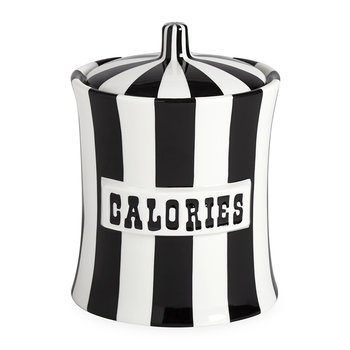 Vice Canister - Calories - Black/White