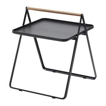 By Your Side Tray Table - Charcoal