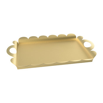 Recinto Rectangular Tray - Brass