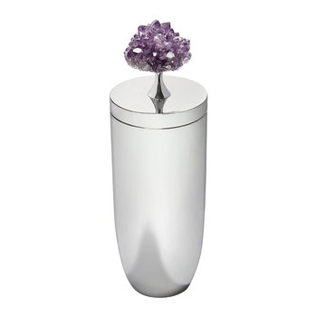 Heritage Cocktail Shaker - Amethyst/Silver