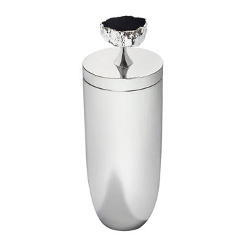 Heritage Cocktail Shaker - Obsidian/Silver