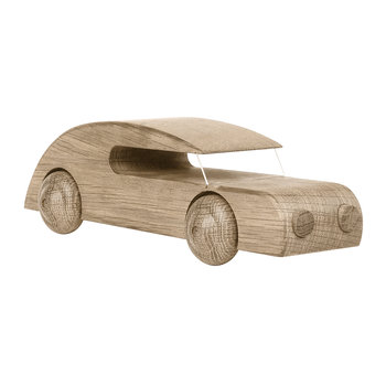 Wooden Sedan Car Toy - Oak