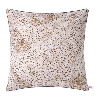 Dots Square Cushion - Copper/Red - 50x50cm