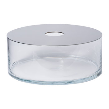 Narciso Transparent Vase - Low