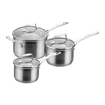 Impact 3 Piece Saucepan Set