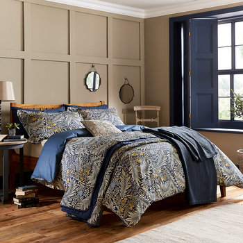 Larkspur Duvet Set - Indigo Blue