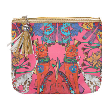 Cairo Cats Make-Up Bag