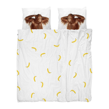Banana Monkey Quilt Set