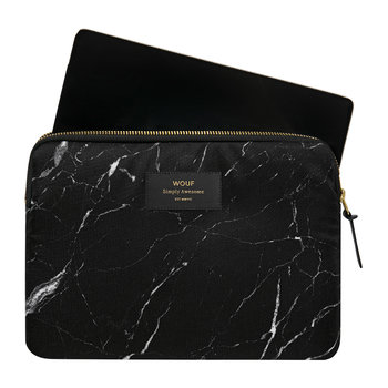 Marble iPad Case - Black