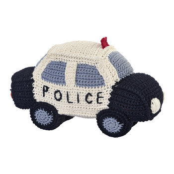 Crochet Police Car - Black