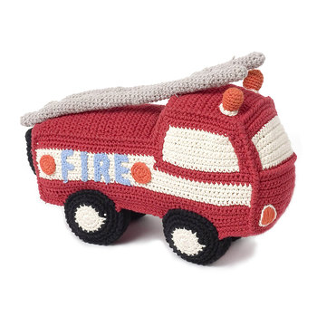 Crochet Fire Engine - Red