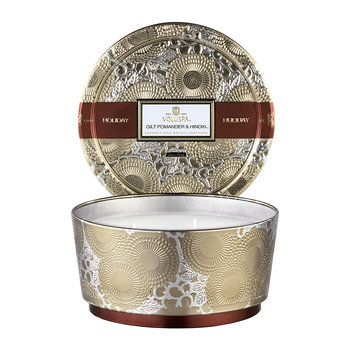 Japonica Limited Edition Candle - Gilt Pomander & Hinoki - 400g