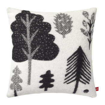 Forest Woven Pillow - Black/White - 48x48cm