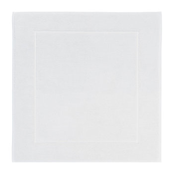 London Square Bath Mat - 60x60cm - White