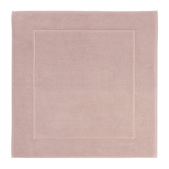 London Square Bath Mat - 60x60cm - Dusty Pink