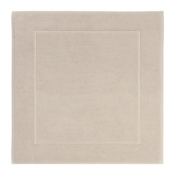 London Square Bath Mat - 60x60cm - Linen