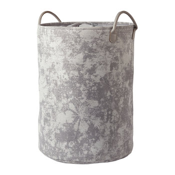 Olav Laundry Basket - Light Grey
